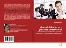 Bookcover of Gesunde Mitarbeiter – gesundes Unternehmen