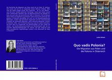 Bookcover of Quo vadis Polonia?