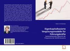 Capa do livro de Eigenkapitalbasierte Vergütungsmodelle für Führungskräfte