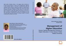 Bookcover of Management of Higher Education