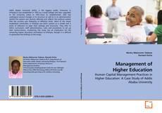 Portada del libro de Management of Higher Education