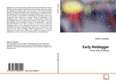 Bookcover of Early Heidegger