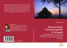 Österreichische Entwicklungshilfe in Paraguay kitap kapağı