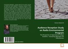 Bookcover of Audience Reception Study on Radio Environmental Program