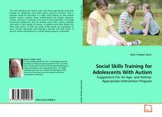 Copertina di Social Skills Training for Adolescents With Autism