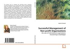 Bookcover of Successful Management of Non-profit Organizations