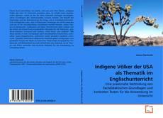 Обложка Indigene Völker der USA als Thematik im Englischunterricht