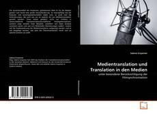 Обложка Medientranslation und Translation in den Medien