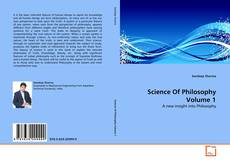 Bookcover of Science Of Philosophy Volume 1