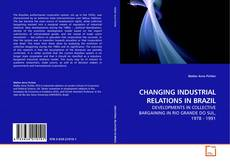 Buchcover von CHANGING INDUSTRIAL RELATIONS IN BRAZIL