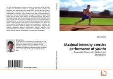 Borítókép a  Maximal intensity exercise performance of youths - hoz