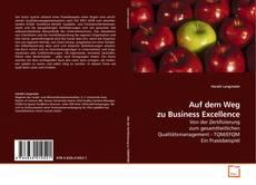 Copertina di Auf dem Weg zu Business Excellence