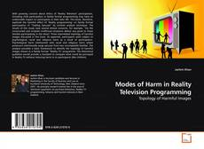 Bookcover of Modes of Harm in Reality Television Programming