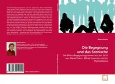 Buchcover von Die Begegnung und das Szenische