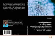 Capa do livro de Finding Freedom in Forgiveness