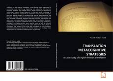 Copertina di TRANSLATION METACOGNITIVE STRATEGIES