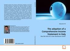 Couverture de The adoption of a Comprehensive Income Statement in Italy
