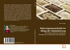 Capa do livro de Nahrungssouveränität im Alltag der Globalisierung