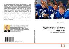 Portada del libro de Psychological training programs