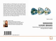 Bookcover of MANAGING LUXURY BRANDS