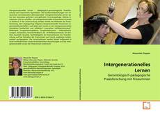 Bookcover of Intergenerationelles Lernen