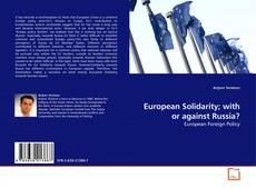 European Solidarity; with or against Russia?的封面