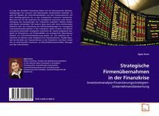 Portada del libro de Strategische Firmenübernahmen in der Finanzkrise