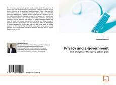 Bookcover of Privacy and E-government