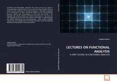 LECTURES ON FUNCTIONAL ANALYSIS kitap kapağı