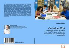 Bookcover of Curriculum 2010
