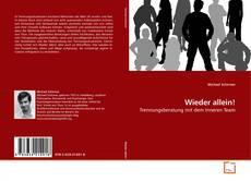 Capa do livro de Wieder allein!