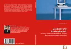 Portada del libro de Usability und Barrierefreiheit