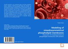 Обложка Modeling of mixed/asymmetrical phospholipid membranes