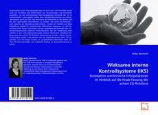 Borítókép a  Wirksame Interne Kontrollsysteme (IKS) - hoz