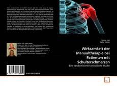 Capa do livro de Wirksamkeit der Manualtherapie bei Patienten mit Schulterschmerzen