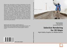 Capa do livro de Selective Rendering for 3D Maps