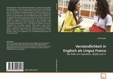 Bookcover of Verständlichkeit in Englisch als Lingua Franca