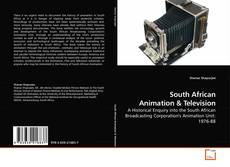 Bookcover of South African Animation
