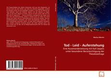 Tod - Leid - Auferstehung kitap kapağı
