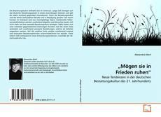 """Bookcover of """"Mögen sie in Frieden ruhen"""""""