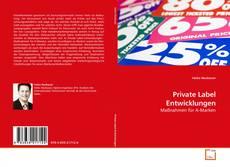 Buchcover von Private Label Entwicklungen