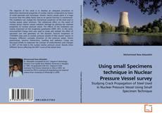 Bookcover of Using small Specimens technique in Nuclear Pressure Vessel survey