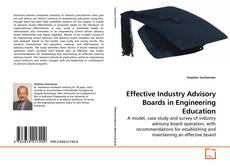 Couverture de Effective Industry Advisory Boards in Engineering Education