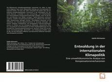 Copertina di Entwaldung in der internationalen Klimapolitik
