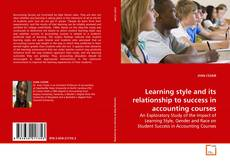 Buchcover von Learning style and its relationship to success in accounting courses