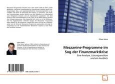 Bookcover of Mezzanine-Programme im Sog der Finanzmarktkrise