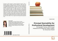 Bookcover of Principal Desirability for Professional Development
