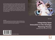 Buchcover von Integrating Open Innovation in the Strategic Planning Process