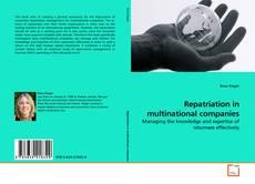 Repatriation in multinational companies的封面