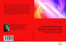 Bookcover of Comparative electricity efficiency analysis in Italy